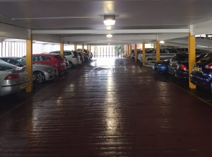 University of Warwick – Multi story Carpark Lighting upgrade.